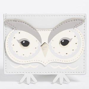 Kate Spade New York Start Bright Owl Card Holder
